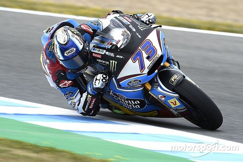 Márquez derrota Morbidelli e crava primeira pole na Moto2