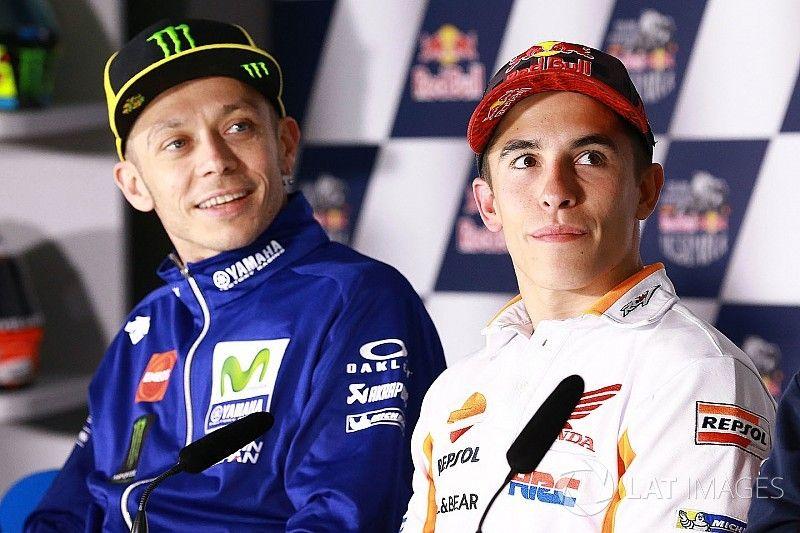 """Rossi: """"Márquez está líder porque ha sabido limitar los daños"""""""