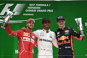 Formula 1 Race report Chinese GP: Hamilton wins as wet start causes fireworks
