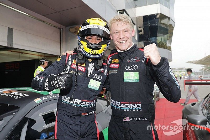 Suzuka Blancpain: Patel scores fourth podium of 2017
