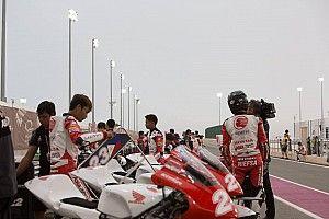 Hujan deras, Race 1 Asia Talent Cup Qatar dibatalkan