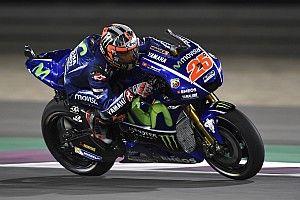 De startopstelling voor de Grand Prix van Qatar