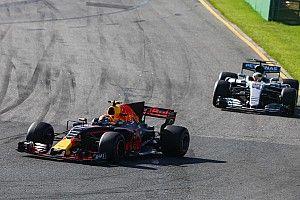 【F1】ハミルトン「早い段階でタイヤ交換するしかなかった」