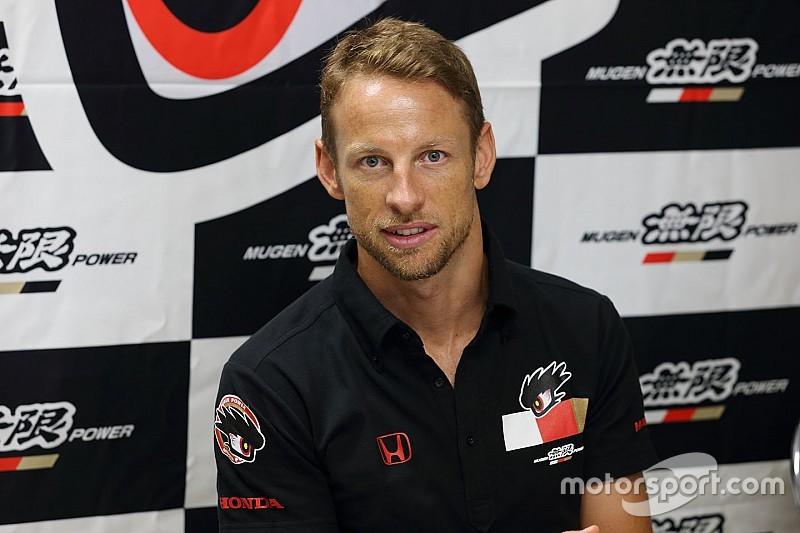 Button in 2018 met Honda in Super GT