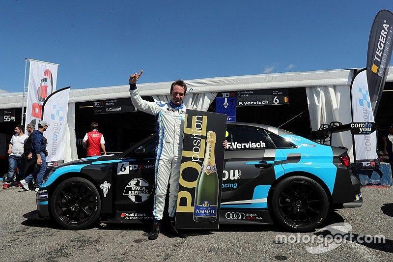 Qualifying at Monza: Frédéric Vervisch took his maiden pole