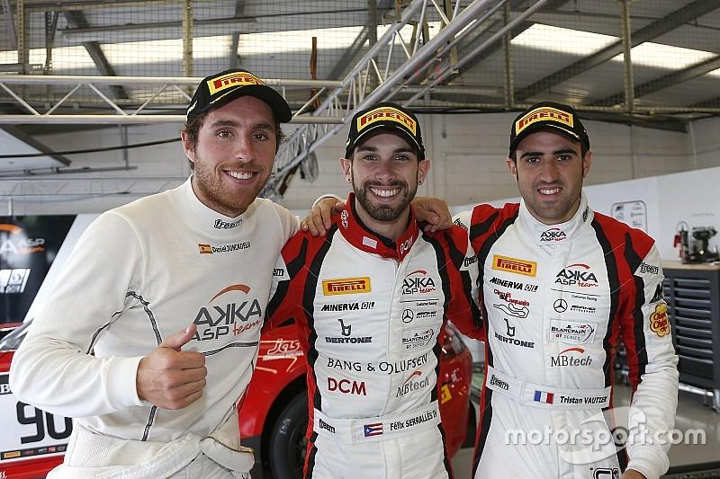 Juncadella scores Silverstone pole for AKKA ASP Mercedes