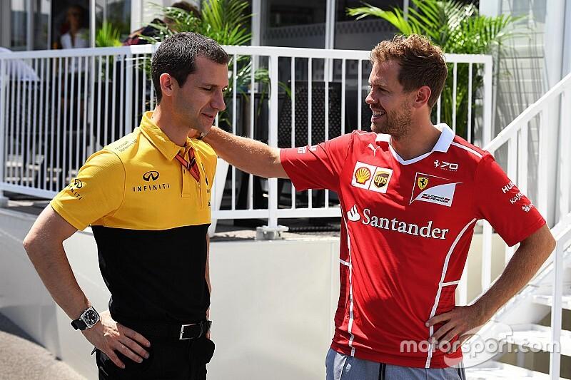 «Мы не говорим на публику». В Renault объяснили отсутствие замечаний к Ferrari