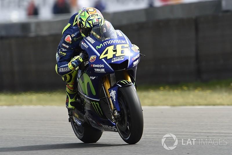 【MotoGP】新シャシーでレースに臨むロッシ「かなり満足している」