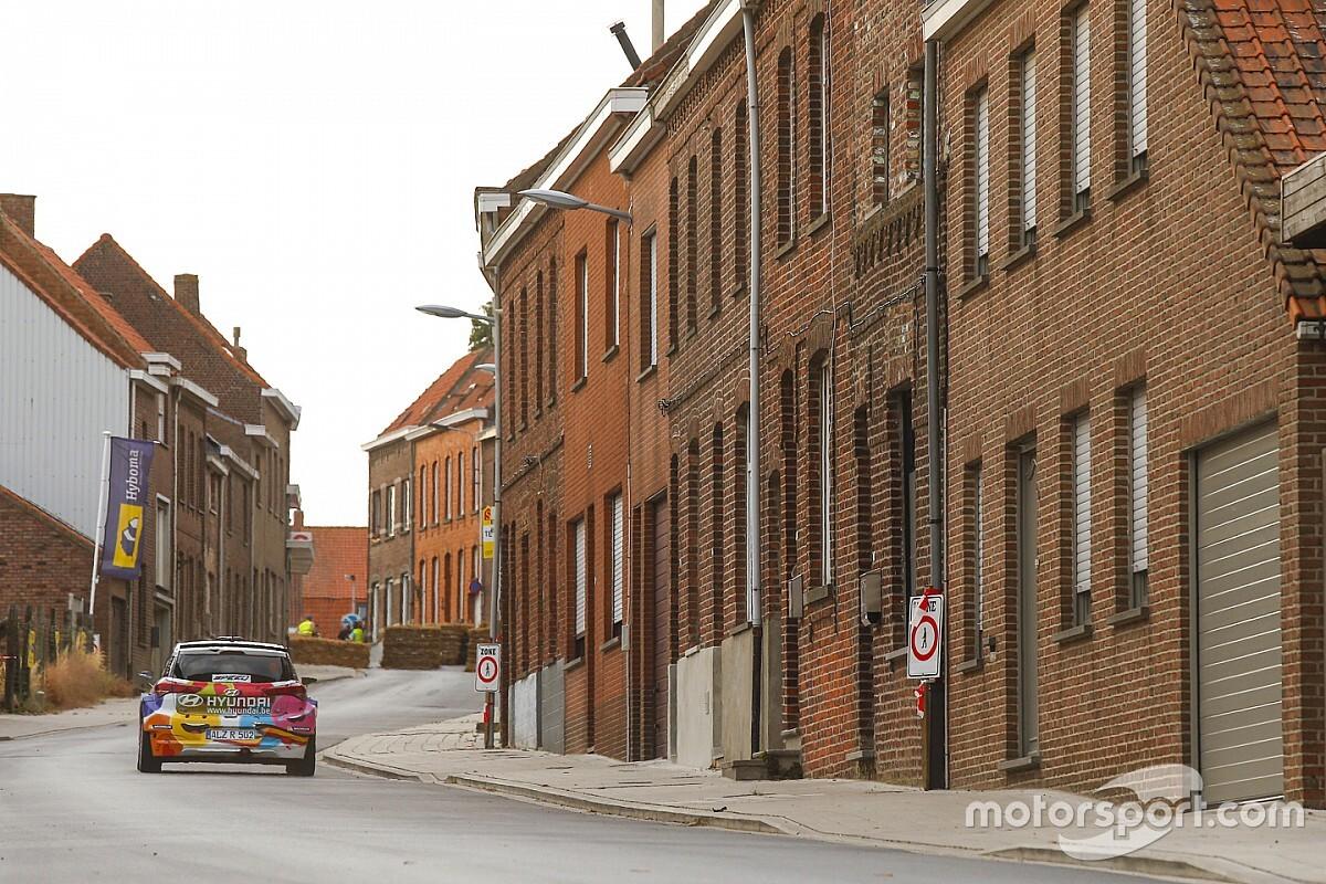 В Спа решили устроить раллийный спецучасток. Для гонки WRC