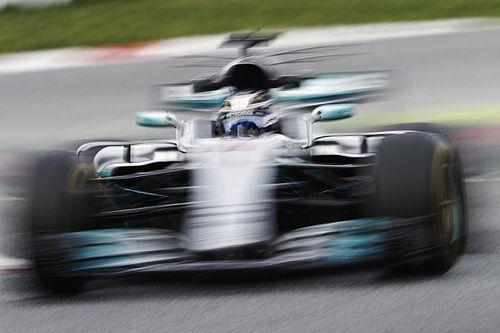 2. Barcelona testleri: 2. günün lideri Bottas, Raikkonen kaza yaptı