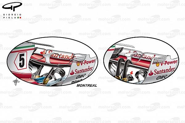 Formule 1 Technique - Les évolutions de Ferrari au GP du Canada