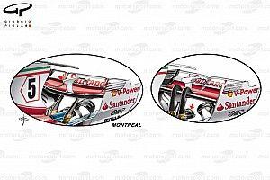 Технический анализ: что Ferrari привезла в Канаду