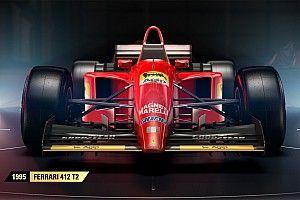 Tiga mobil ikonis Ferrari gabung F1 2017