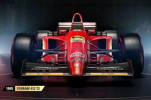 GALERI: Mobil-mobil klasik di F1 2017