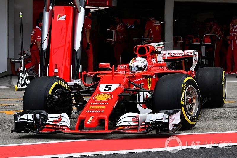 """Vettel ritirato: """"Ho avuto un calo di potenza già nel giro di formazione"""""""
