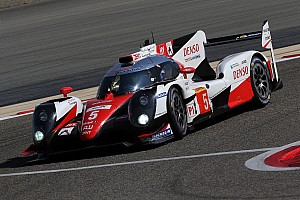WEC Interview Toyota sets