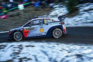 Monte Carlo WRC: Neuville keeps lead as Ogier fights back