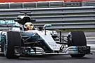 Mercedes faz dia de filmagem com carro 2017 em Silverstone