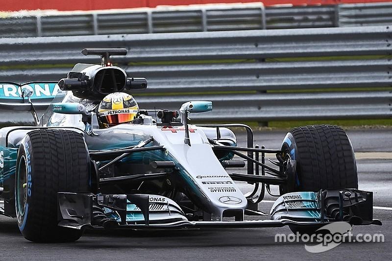 """Hamilton: """"La W08 Hybrid è una bestia, molto più potente della W07"""""""