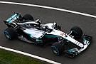 Formula 1 Mercedes W08 Hybrid: il... palo del telegrafo non è consentito