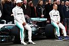 На тестах Mercedes будет чередовать пилотов в течение дня