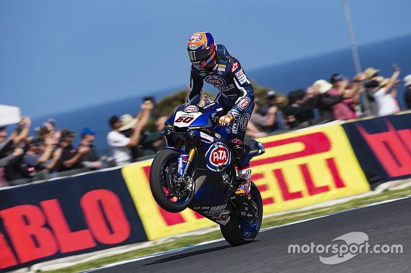 Van der Mark gagne en aisance de pilotage avec la Yamaha
