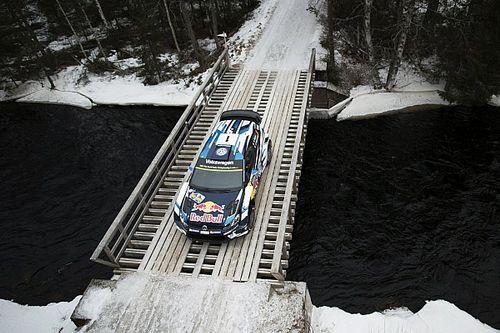 WRC Zweden: Ogier verdedigt kleine marge op Paddon