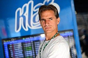 Giaffone vive maratona entre pista e cabine de transmissão em estreia na TV Globo