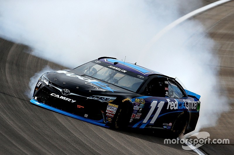 Las-Vegas-Tests: Johnson schnell, Hamlin crasht