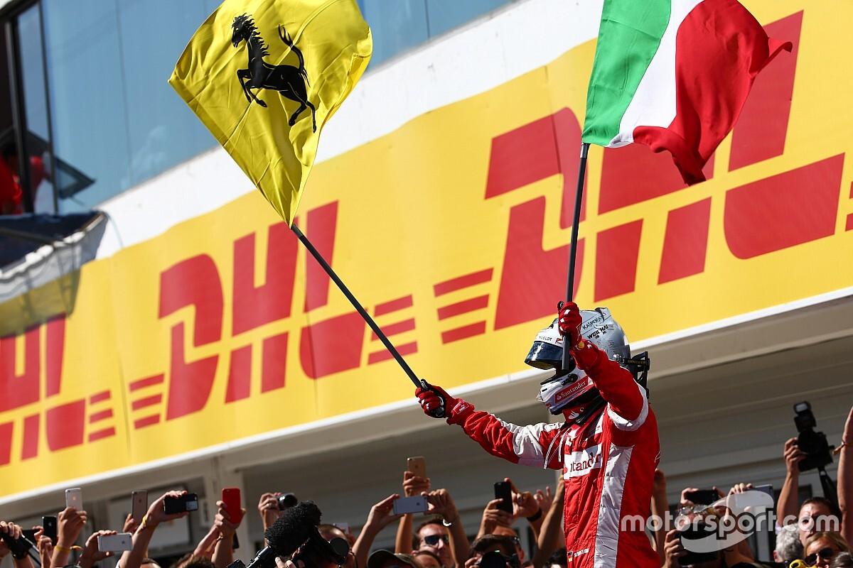 Fotogallery F1: le 14 vittorie di Vettel con la Ferrari