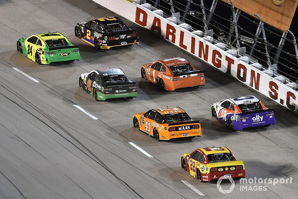 NASCAR sets stage lengths for rescheduled races