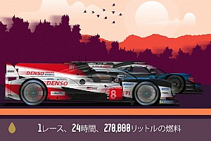 ル・マン24時間……レースに使用された27万リットルの燃料と、その魅力的なロジスティクス