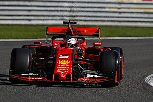 Vettel lidera un doblete de Ferrari en el inicio del GP de Bélgica
