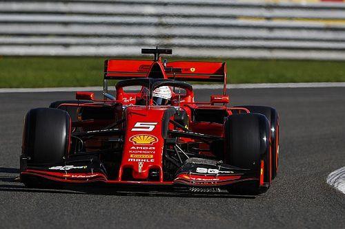 比利时大奖赛FP1:维特尔、莱科勒克为法拉利包揽前二