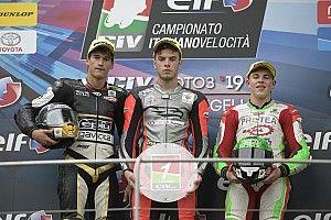 CIV Moto3: gare folli, Spinelli lanciato verso il titolo