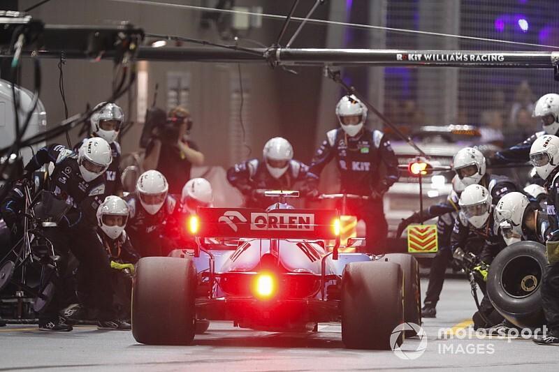 Singapur GP'de en hızlı pit stopu Williams yaptı