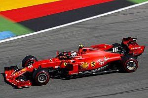 Leclerc se mantiene arriba en Hockenheim