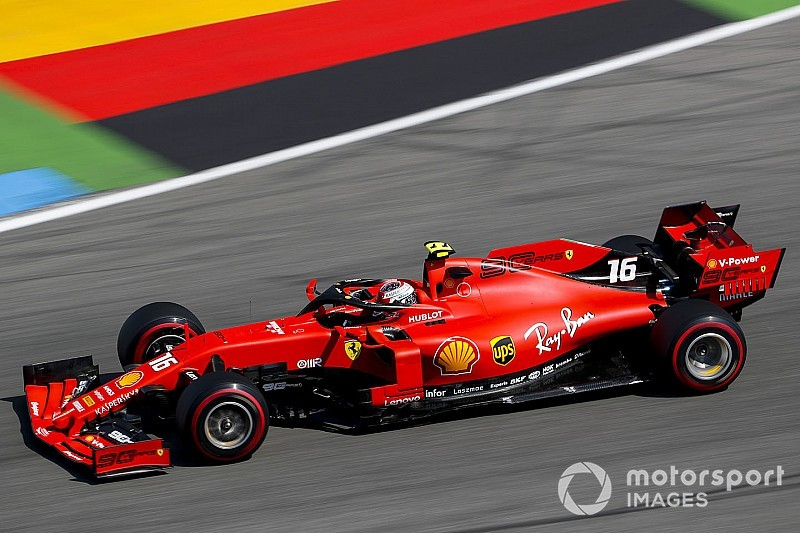 德国大奖赛FP3:莱克勒克最快,梅赛德斯未入前三