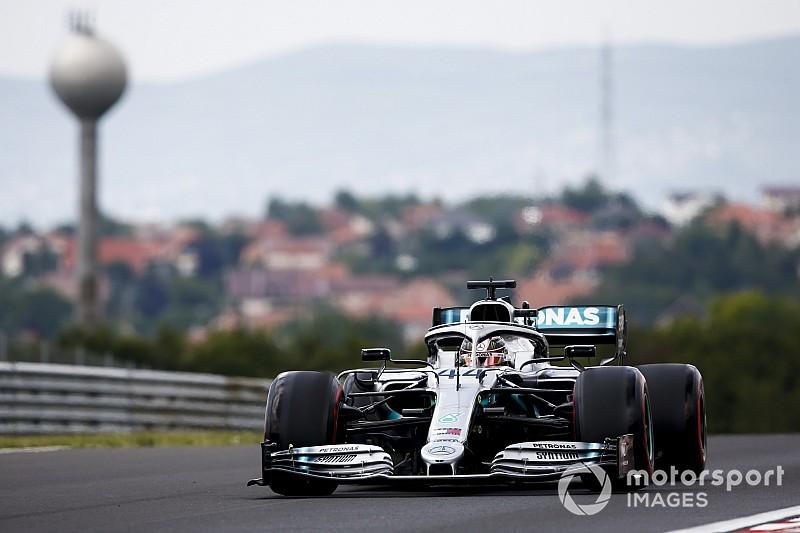Hamilton, Verstappen en Vettel binnen één tiende in VT3 Hongarije