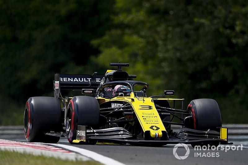 Ricciardo cambia de motor y sale último en Hungría
