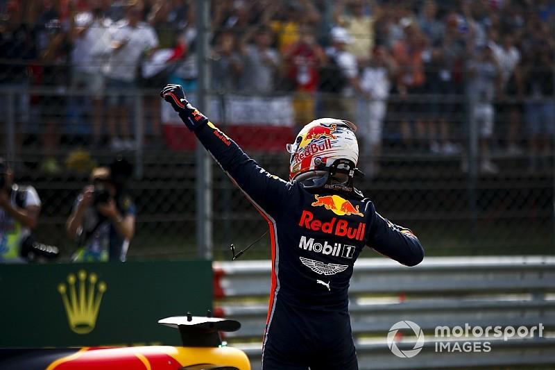 Videó: Így ünnepelt Verstappen és a Red Bull a pole megszerzését követően