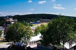 Przygotowania do GP Belgii - zdjęcia