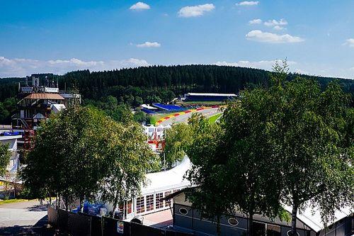 GALERIA: Melhores imagens da quarta-feira da Fórmula 1 na Bélgica