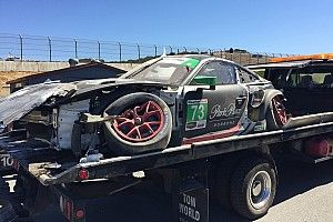 Crash forces Park Place to skip Petit Le Mans