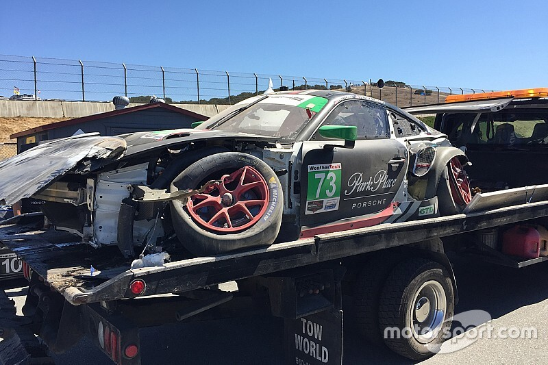Crash forces Park Place to skip Petit Le Mans