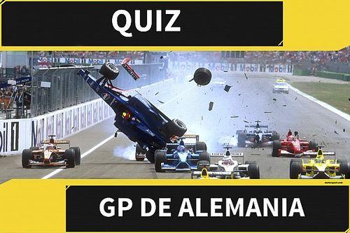 El quiz del GP de Alemania de F1