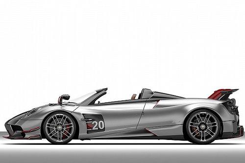 Pagani reveló su Huayra Roadster BC, más liviano y potente que nunca antes
