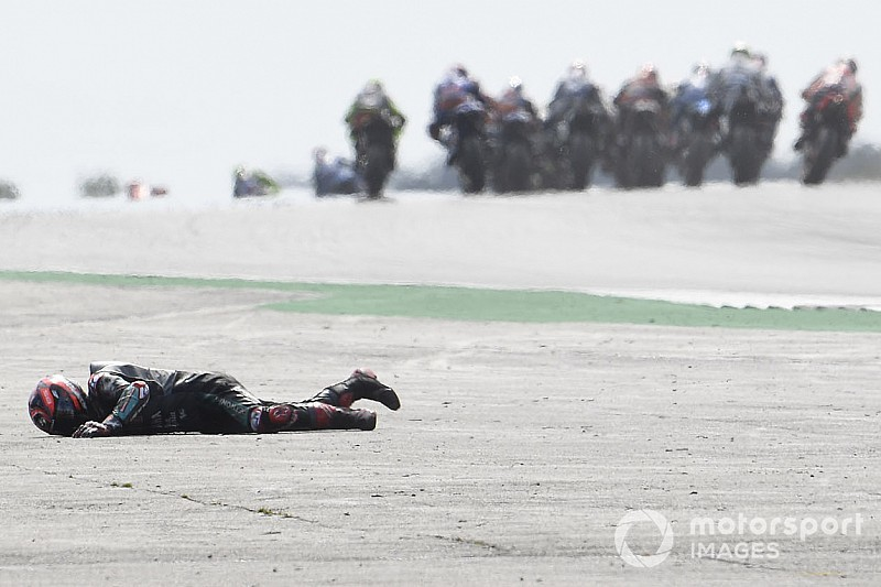 "Quartararo: ""Crash veroorzaakt door fout Rins"""