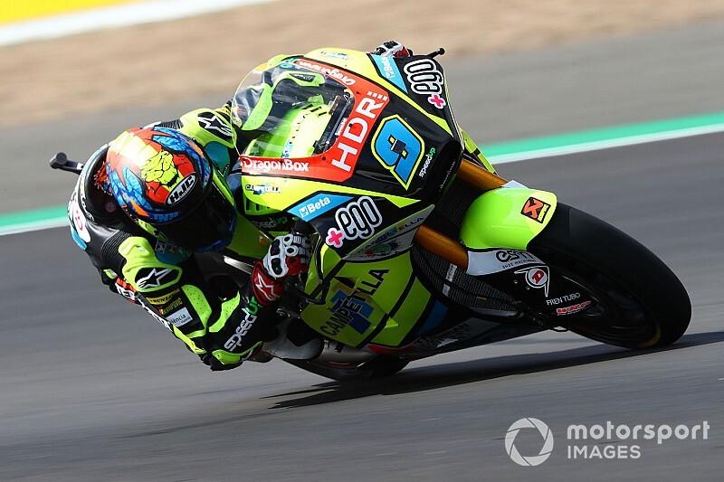 Moto2 Valencia: Pole Navarro'nun