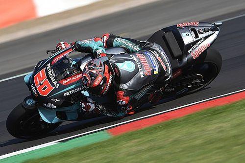 Silverstone MotoGP: Isınma turlarında Quartararo lider